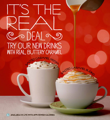 """Caribou Coffee to """"Warm Up"""" its Fans with Hot Beverages and Real Caramel this Holiday Season"""