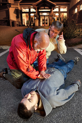 EMS dispatchers can talk people through CPR.