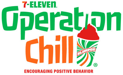 7-Eleven(r) works with law enforcement agencies across the country to distribute free Slurpee(r) drink coupons thorough Operation Chill(r), its popular community-service program that rewards young people for good deeds, positive activities and acts of kindness.
