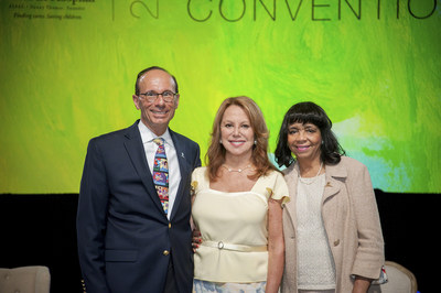 L to R: Paul J. Ayoub, partner and executive committee member of Boston-based law firm Nutter McClennen & Fish LLP; Marlo Thomas, National Outreach Director for St. Jude Children's Research Hospital; and Martha Perine Beard, retired regional executive of the Memphis Branch of the Federal Reserve Bank of St. Louis. Ayoub and Beard were announced new chairs of the ALSAC and St. Jude Boards of Directors and Governors respectively, effective July 1, 2015. Their leadership will help St. Jude Children's...