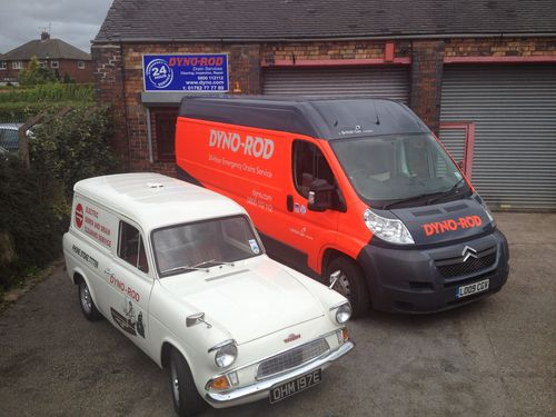 New and old van (PRNewsFoto/Dyno-Rod)