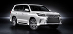Lexus reveals refreshed 2016 LX 570 luxury utility vehicle with bolder styling.