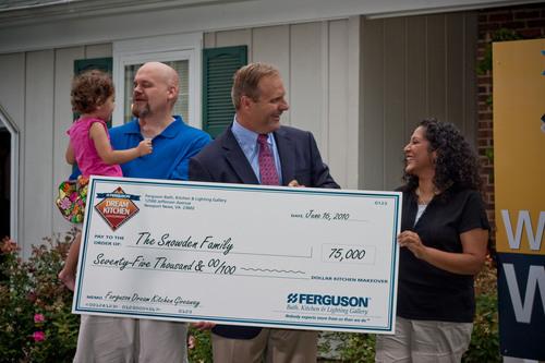 Ferguson Dream Kitchen Giveaway Grand Prize Winner Announced