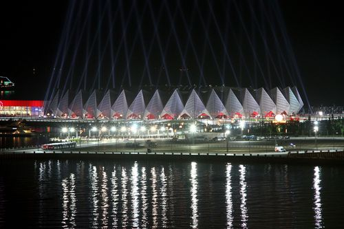 Baku's Crystal Hall hosted Eurovision 2012 and will be the venue for a number of events including Volleyball at Baku 2015