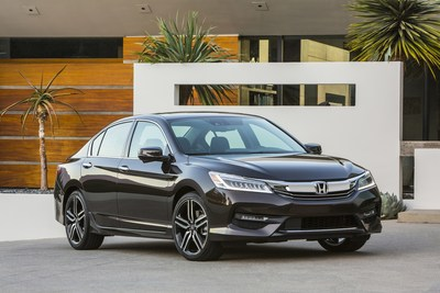 Honda Introduces the Highest Tech Accord Yet in High Tech's U.S. Hub-Silicon Valley