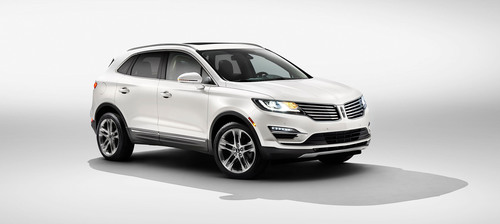 The Lincoln Motor Company introduces the all-new 2015 Lincoln MKC small premium utility vehicle, the second of four all-new Lincoln vehicles to fuel the brand's reinvention. (PRNewsFoto/Lincoln Motor Company) (PRNewsFoto/LINCOLN MOTOR COMPANY)