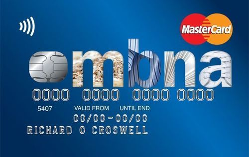 The MBNA Low Rate Credit Card (PRNewsFoto/MBNA)