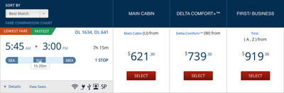 Delta Comfort+ now available as a fare for flights to Asia and Latin America