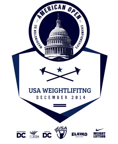 USA Weightlifting American Open logo.  (PRNewsFoto/Destination DC)