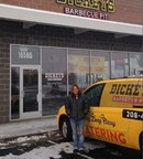 District Manager Jenny Hughes stands outside the new Dickey's Barbecue location in Nampa. New fast casual option opens Thursday with three-day grand opening.