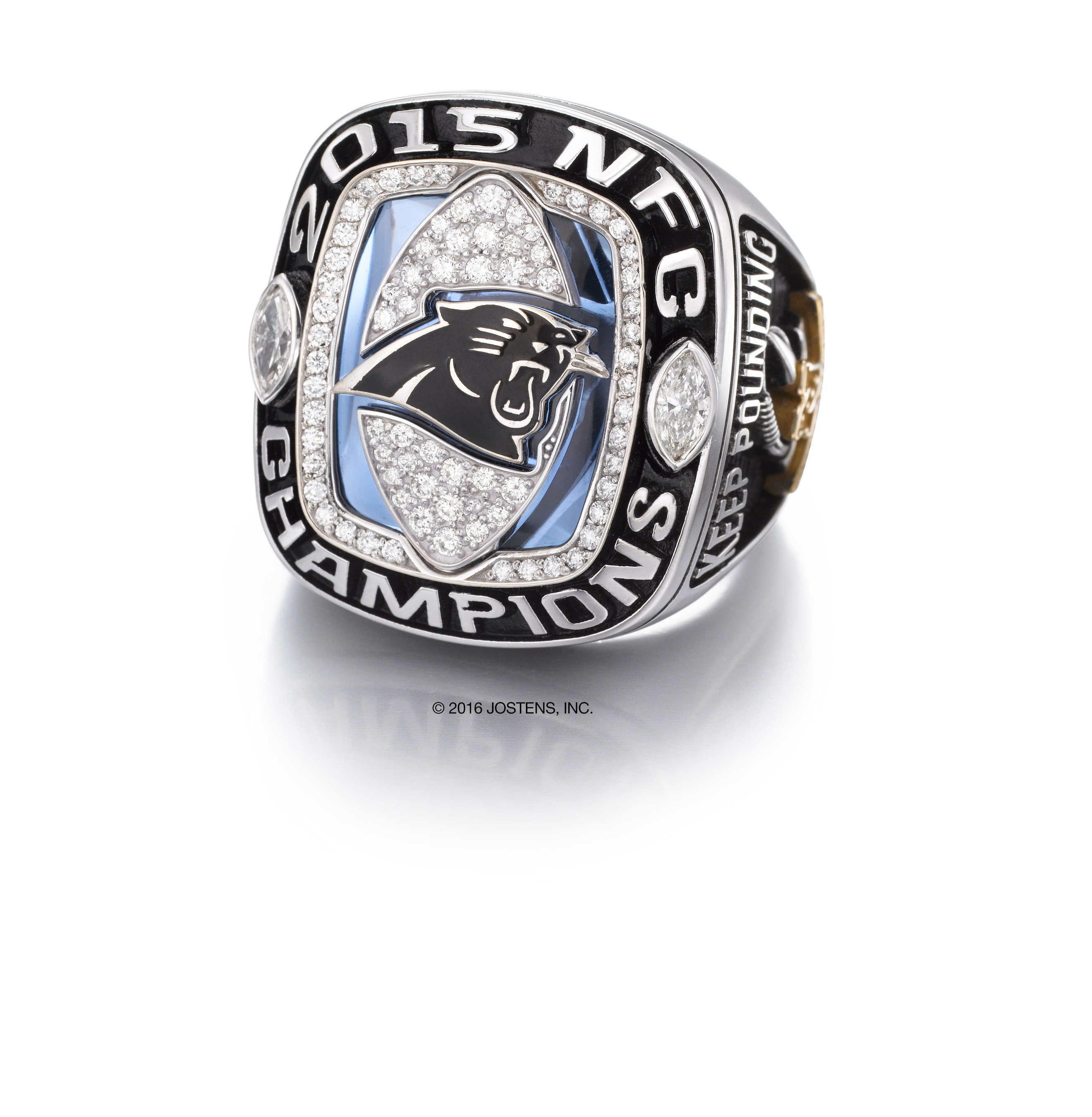 Carolina Panthers 2015 National Football Conference (NFC) Championship ring