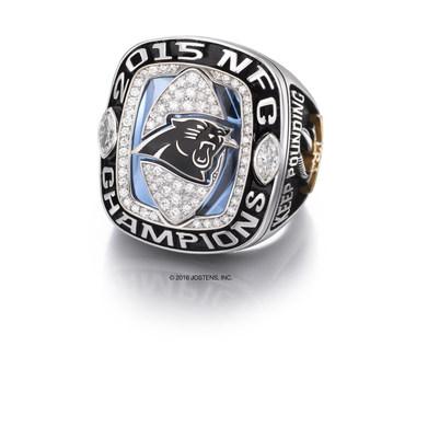 Carolina Panthers 2015 National Football Conference (NFC) Championship ring