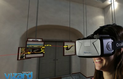 Plug and play integration of HMD Eye Tracking by SensoMotoric Instruments with the Vizard VR toolkit by WorldViz (PRNewsFoto/SensoMotoric Instruments) (PRNewsFoto/SensoMotoric Instruments)
