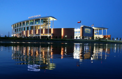 McLane Stadium in Waco, Texas. Courtesy of Matthew Minard, Baylor University Marketing & Communications.