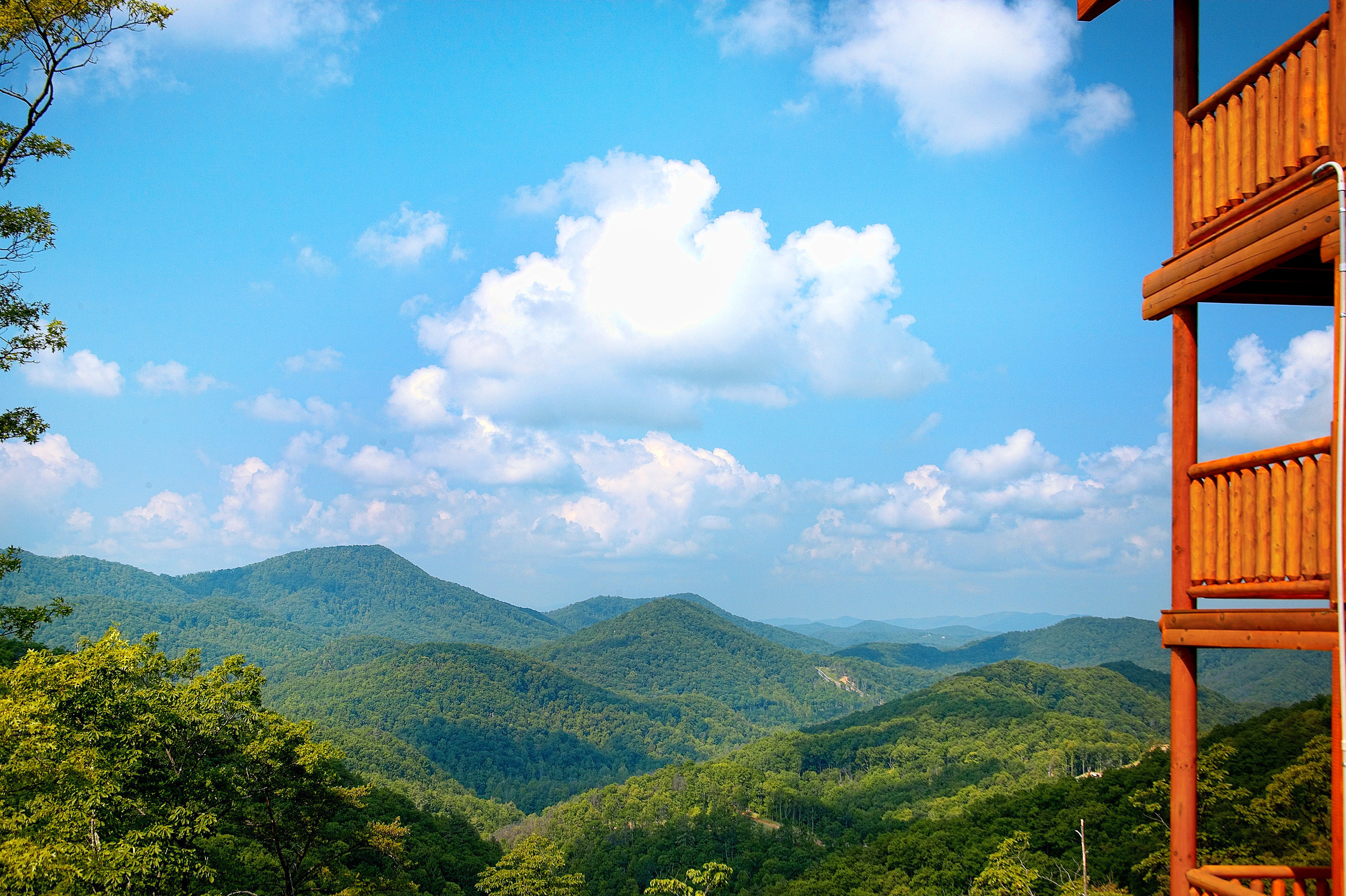 Take in some of the best mountain views with up to 35 percent off* Wyndham Vacation Rentals cabin rentals in the Smokies.