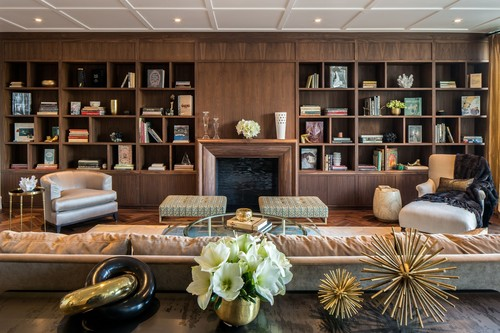 A home beautifully curated by iconic NYC department store Bergdorf Goodman at 22 Central Park South, a new ...