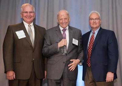 (l-r) GHA Chairman Steve Gautney, Dr. H. Kenneth Walker, GHA President Earl Rogers