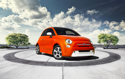 EPA estimates annual cost to power 2013 Fiat 500e is, coincidentally, $500.  (PRNewsFoto/Chrysler Group LLC)