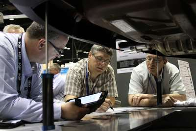 Chief Automotive Technologies and Elektron (booth #20021) will offer the tools and training needed to repair modern collision-damaged vehicles at NACE 2014, the International Autobody Congress and Exposition, July 30 through Aug. 2 in Detroit. (PRNewsFoto/Chief Automotive Technologies)