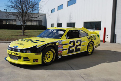 Start Your Engines: Hertz Teams Up With Penske Racing to Sponsor NASCAR Sprint Cup and Nationwide Series.  (PRNewsFoto/The Hertz Corporation)