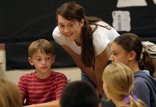 Application deadline for Oregon teaching program's spring start is Oct. 1.  (PRNewsFoto/George Fox University)