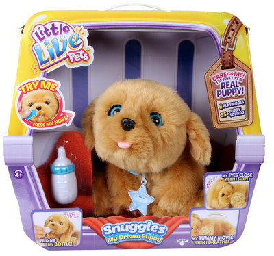 Moose Toys led the season's top trends, including electronic pets with Little Live Pets Snuggles My Dream Puppy, which melts the hearts of kids and adults alike.