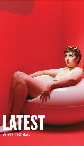 "Standard: HBO comedy ""Girls"" creator and star, Lena Dunham featured in Playboy for iPhone's The ..."