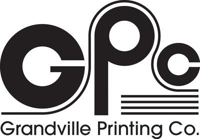 Grandville Printing Company logo.  (PRNewsFoto/Grandville Printing Company)