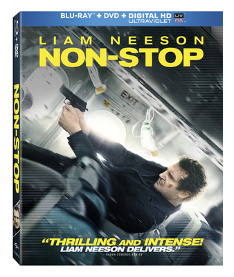 Non-Stop will be released on Digital HD on May 27 and Blu-ray/DVD on June 10.  (PRNewsFoto/Universal Studios Home...)
