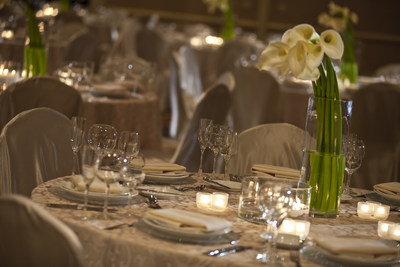 Unforgettable weddings at Renaissance Chicago O'Hare Suites Hotel (PRNewsFoto/Renaissance Chicago O'Hare Suite)
