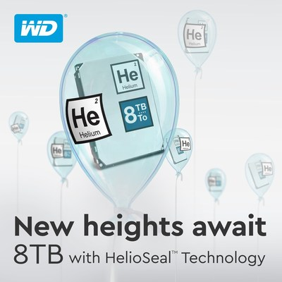 Western Digital Expands Its Hard Drives And External Storage Solutions To 8 TB