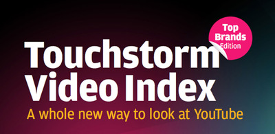 Only 74 brands rank among the top 5,000 YouTube publishers in the 'Touchstorm Video Index: Top Brands Edition'; first comprehensive analysis of brand success on the world's largest online video stage.  (PRNewsFoto/Touchstorm)