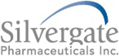 Silvergate logo www.silvergatepharma.com. (PRNewsFoto/Silvergate Pharmaceuticals Inc.)