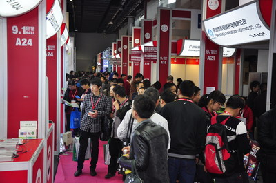 Showfloor of SIGN CHINA 2014 (PRNewsFoto/UBM Trust)