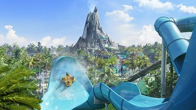Universal's Volcano Bay is a radically-innovative water theme park opening in 2017 at Universal Orlando Resort. Spanning 28 fully immersive acres, Universal Orlando's third theme park will be an entirely new kind of water theme park experience, filled with incredible thrills and relaxing indulgences. This one-of-a-kind park will combine exhilarating experiences with hassle-free convenience so families can get the most out of their vacation together....