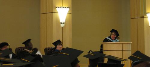 U.S. Under Secretary of Education Martha J. Kanter to Palo Alto University Graduating Class: