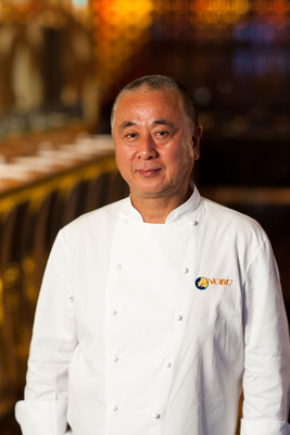 Chef Nobu Matsuhisa and 28 Nobu Chefs from Across the Nation Will Make Culinary History With Nobu United - A Culinary Celebration at Nobu Caesars Palace Las Vegas - Oct. 9, 2013.(PRNewsFoto/Nobu Caesars Palace)