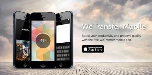 WeTransfer debuts new mobile app to boost productivity. Simplicity and ease of use remains at the heart of WeTransfer. (PRNewsFoto/WeTransfer)