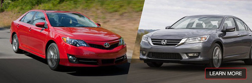 Toyota of Naperville offers its customers an impressive set of head to head comparisons among their most popular vehicles and the top competition. (PRNewsFoto/Toyota of Naperville)