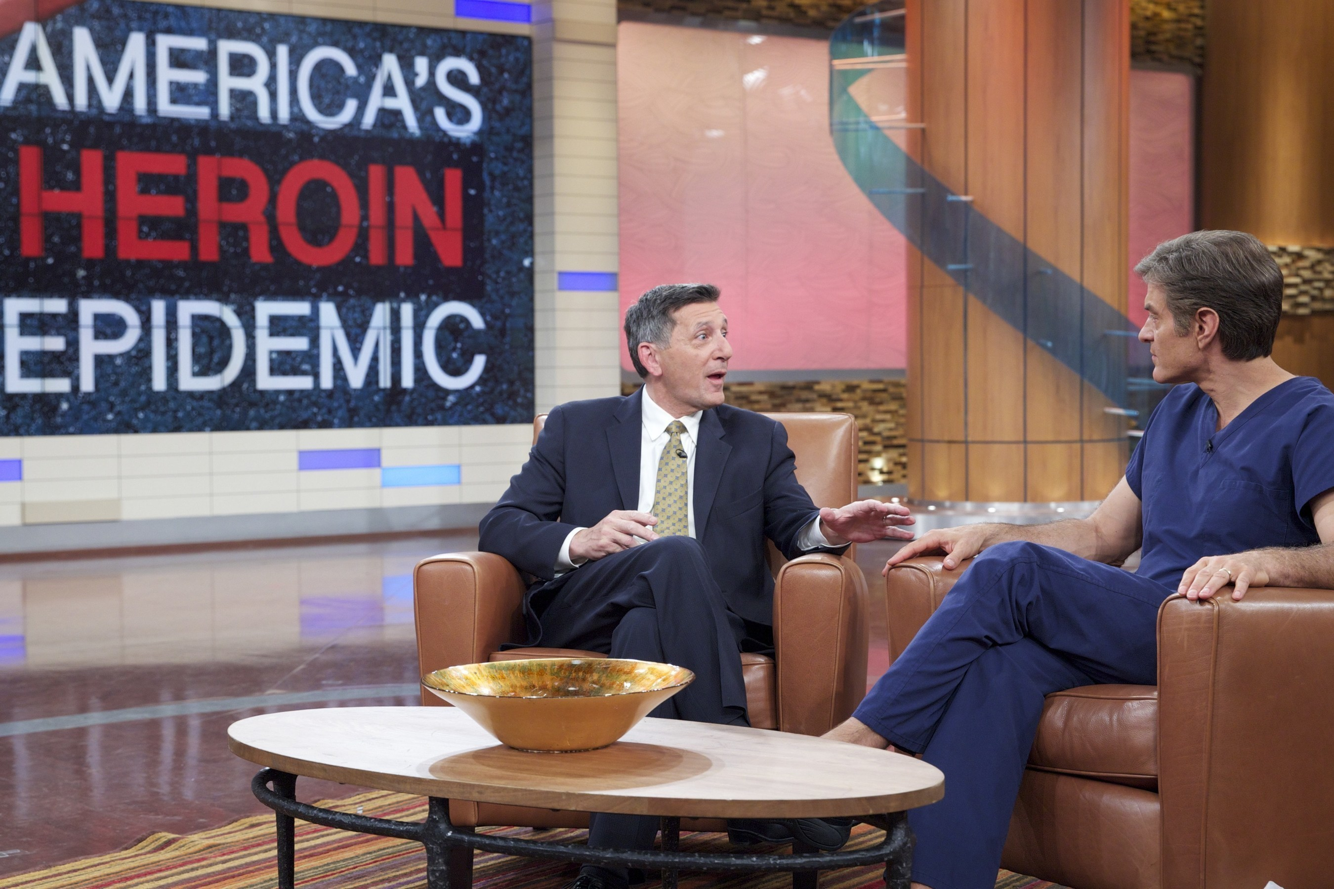 The Dr. Oz Show Explores America's Heroin Epidemic With White House Director Of National Drug Control Policy Michael Bottacelli