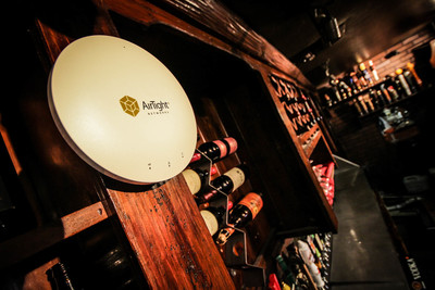 AirTight social analytics deliver results for upscale pub's owners. Image credit: Darel Parker, Frontera Consulting. (PRNewsFoto/AirTight Networks)