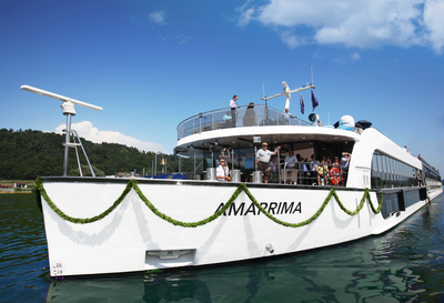 AmaPrima reined Queen of all river vessels in the Berlitz: River Cruise In Europe travel guide. (PRNewsFoto/AmaWaterways)