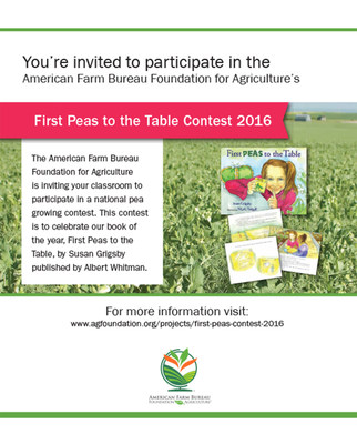 First Peas To the Table Contest Launch American Farm Bureau Federation