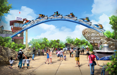A SeaWorld Animal Rescue-theme ride concept announced in today's SeaWorld Entertainment, Inc. Analyst and Investor presentation.