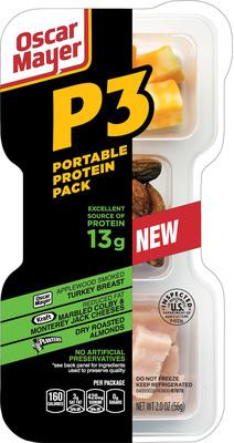 Oscar Mayer P3 Portable Protein Pack.  (PRNewsFoto/Oscar Mayer)