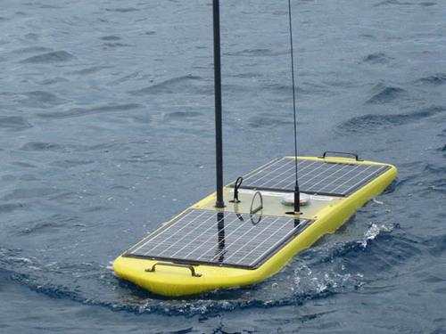 Liquid Robotics' Wave Glider, Winner Of The Gulfstream Navigator Award Presented At The Savannah Ocean ...