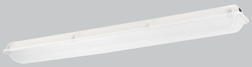 Columbia Lighting's LXEM LED Enclosed and Gasketed Fiberglass Industrial Luminaire—the perfect energy efficient luminaire for messy industrial environments. (PRNewsFoto/Hubbell Lighting) (PRNewsFoto/HUBBELL LIGHTING)