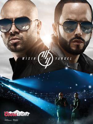 Coors Light Teams Up with Latin Powerhouse Duo Wisin & Yandel.  (PRNewsFoto/Coors Light)