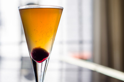 The Regal 40 cocktail -- a stately tribute to Oliver's tradition of style and grace for the last 40 years.