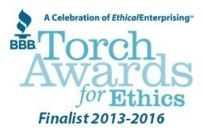 IC System has been nominated for a Better Business Torch Award for Ethics for three consecutive years.